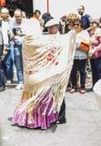 Lajkonik ` San Isidro `, patron Madryt, Maj 15, 2017, Madryt, Hiszpania Obrazy Royalty Free