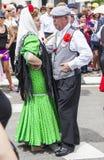 Lajkonik ` San Isidro `, patron Madryt, Maj 15, 2017, Madryt, Hiszpania Zdjęcia Royalty Free