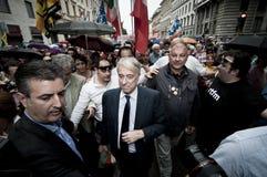 lajkonika Giuliano Milan pisapia republika Zdjęcie Stock