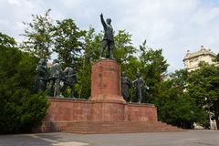 Lajos Kossuth Memorial Royalty Free Stock Photography