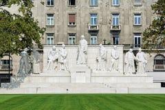 Lajos Kossuth Memorial em Budapest, Hungria Foto de Stock Royalty Free