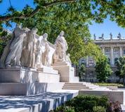 Lajos Kossuth Monument imagem de stock