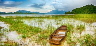 Lak湖 图库摄影