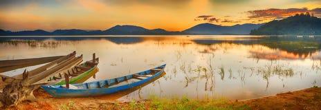 Lak Jezioro Fotografia Royalty Free