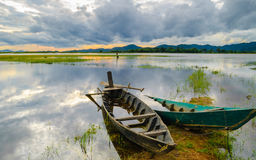Lak lake, Daklak province, Vietnam Stock Photo