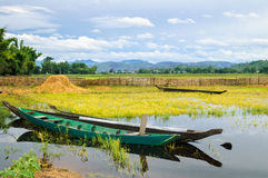 Lak lake, Daklak province, Vietnam Royalty Free Stock Photography