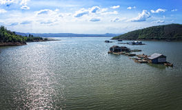 LAK-meer, Daklak, Vietnam Royalty-vrije Stock Afbeeldingen