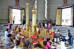LAK Mueang, Stadt-Pfosten-Schrein, Thailand stockfotografie