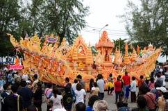 Lak Phra Tradition Stock Photo