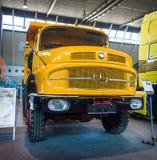 LAK 2624 6X6 Mulde de Mercedes-Benz do caminhão pesado, 1974 Imagem de Stock