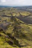 Lakagigar. Viuw eruption craters at Lakagigar Stock Image