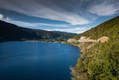 Lakar lake. Lake Lákar San Martin de los andes Stock Image