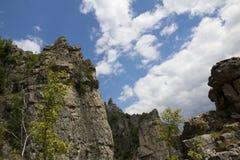 Lakatnik cliffs Royalty Free Stock Image