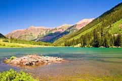 lake 1 maroon obrazy royalty free