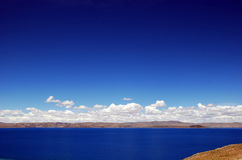 Lake. The lake is beautiful on altiplano Stock Images