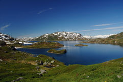 Lake. In Norway Stock Photography