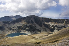 Lake. Beautiful landscape with a lake in Pirin mountain Stock Image