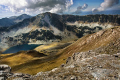 Lake. Beautiful landscape with a lake in Pirin mountain Royalty Free Stock Photo