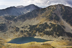 Lake. Beautiful landscape with a lake in Pirin mountain Royalty Free Stock Photos