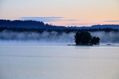 Lake. Lipno in the South Bohemian royalty free stock images
