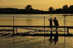 lake Arkivfoton
