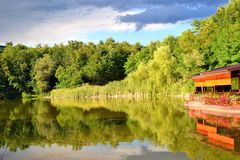 The lake Stock Photography