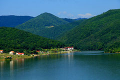 lake Royaltyfri Bild