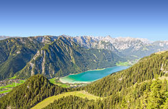 Lake. Beautiful mountain landscape in Alps Royalty Free Stock Photography