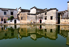 chinese famous village, Hongcun Stock Images