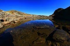 is- lake Arkivbild