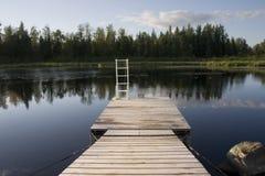 lake. Zdjęcie Stock