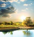 lake Royaltyfria Foton