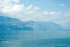 Lake. View of the lake Garda . North Italy stock photos