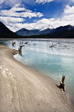 Lake. This is the lake on altiplano Stock Image