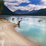Lake. This is a beautiful lake on altiplano Royalty Free Stock Images