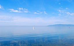 Lake. Baikal lake, mountains on the horizon Stock Photo