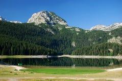 Lake. On mountain Durmitor in Motnenegro stock image