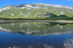 Lake in Abruzzo Stock Image