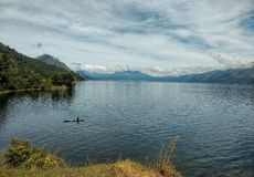 Laut Tawar Lake. A lake from Aceh Tengah distric, Aceh Province - Indonesia Royalty Free Stock Photography