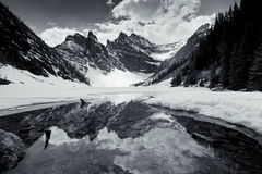 Lake Agnes Royalty Free Stock Images