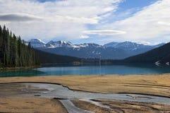 Lake Agnes Royaltyfri Foto