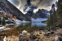 Lake Agnes - Alberta, Canada Royalty Free Stock Photography