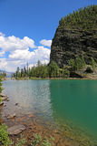 Lake Agnes and Big Beehive Royalty Free Stock Images