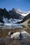Lake Agnes, Kanada Royaltyfria Bilder