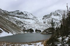 Lake Agnes Royalty Free Stock Photos