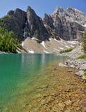 Lake Agnes Stock Photo