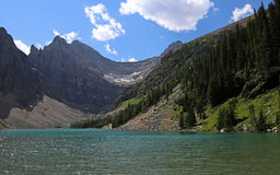 Lake Agnes Royalty Free Stock Photo