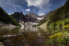 Lake Agnes Royalty Free Stock Photography