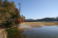 The Lake Akan Stock Photo