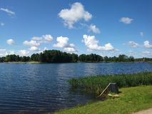 Lake Alūksne royalty free stock image